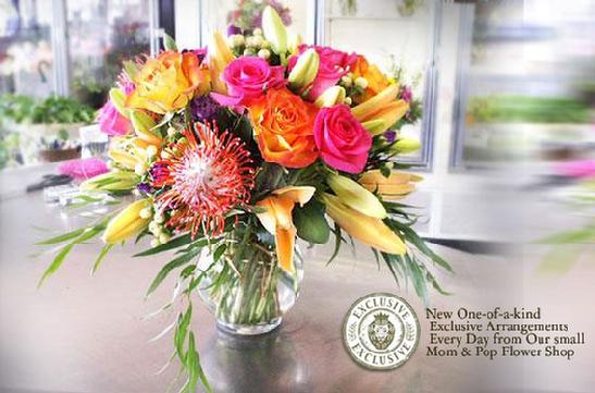 Floral bouquet for delivery locally
